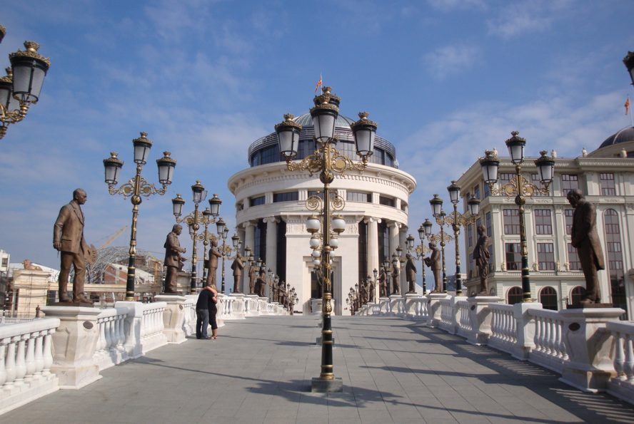 Skopje - most
