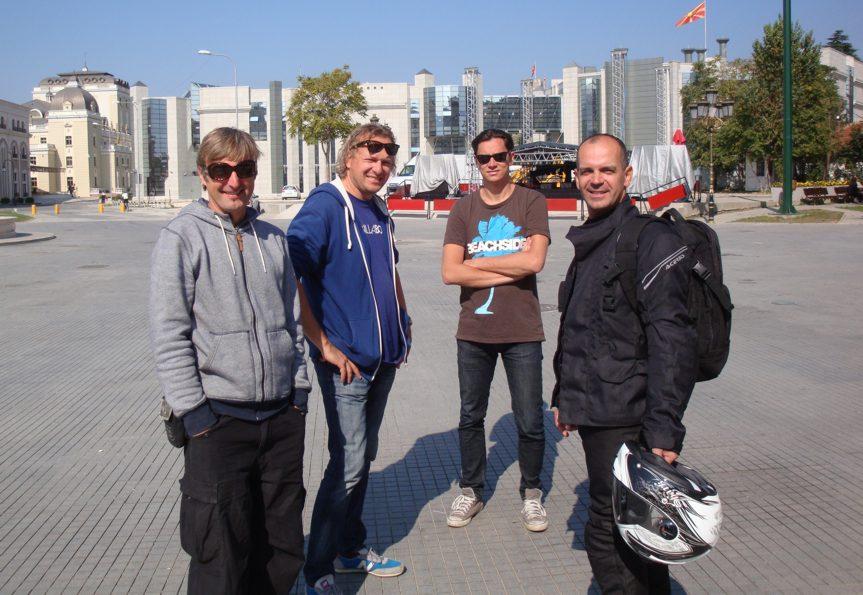 Skopje - spotkanie z Czarkiem