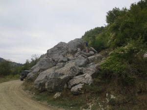 skarb Park Hotova - skała